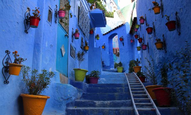 What you need to know before visiting Chefchaouen, a town known for its winding tunnels and staircases, handmade leather goods, and sites like the Casbah and Rif Mountains.