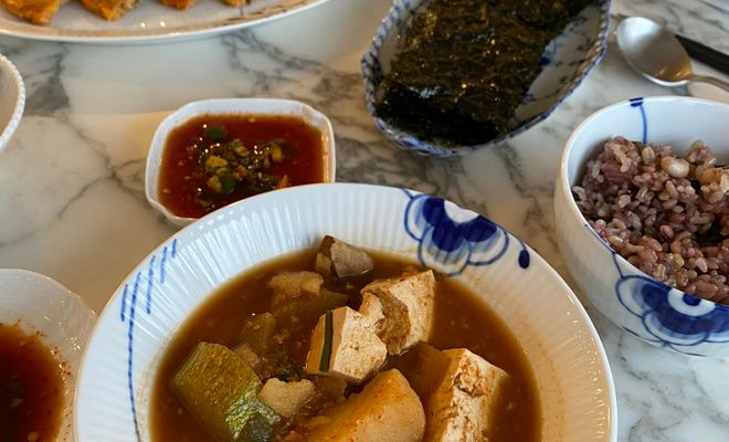 RECIPE: Doenjang Jjigae (Korean Fermented Soybean Paste Stew)